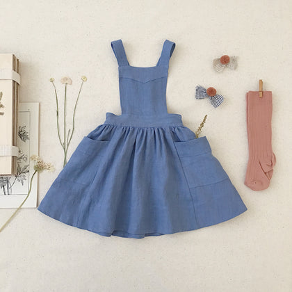 Soor Ploom Harriet Pinafore, Cornflower