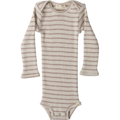 Minimalisma Alaska Onesie in Rose Stripe