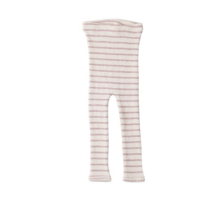 Minimalisma Arona Leggings in Rose Stripes