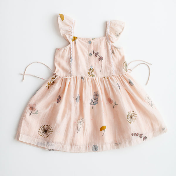 Lali Pressed Flowers Pinafore