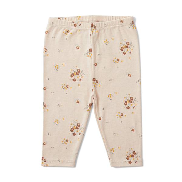 Konges Slojd Newborn Leggings in Nostalgia Blush