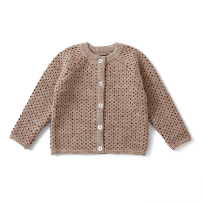 Konges Meo Cardigan in Honey Comb