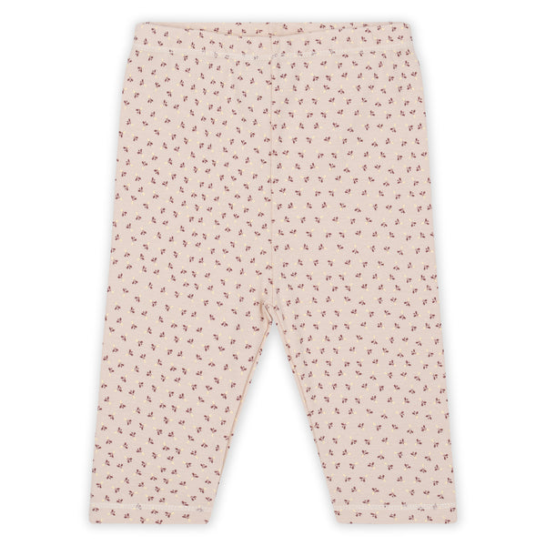 Konges Slojd Newborn Leggings in Tiny Clover