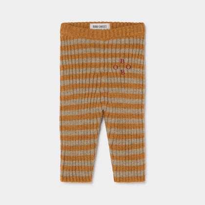 Bobo Choses Knitted Stripe Leggings