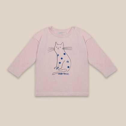 Bobo Choses Cat Long Sleeve Tee