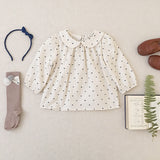 Soor Ploom Sparrow Blouse, Swiss Dot