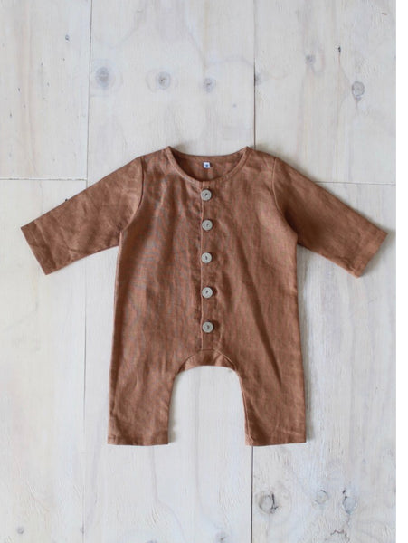 Yoli and Otis Otti Suit in Rust
