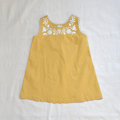 Apolina Cass Dress in Camomile Yellow