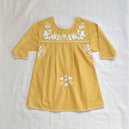 Apolina Pattie Dress in Camomile Yellow