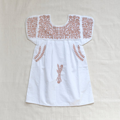 Apolina Stevie Dress in White