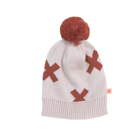 Tiny Cottons Logo Beanie  - Pink