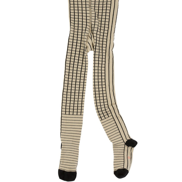 Tiny Cottons Lines and Grids Tights