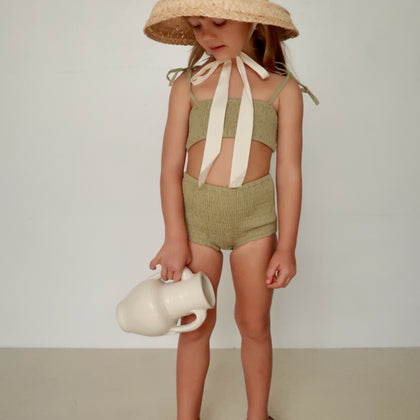 House of Paloma Agnes Set in Olive