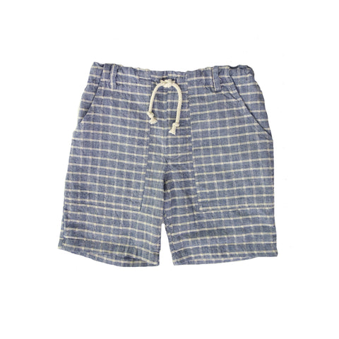 Nico Nico Barrel Short in Chambray