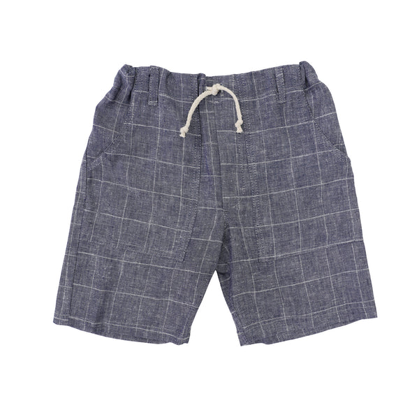 Nico Nico Broadway Barrel Short in Chambray