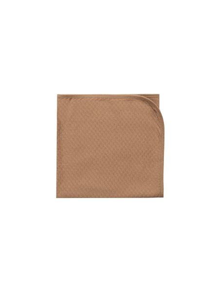 Quincy Mae Pointelle Baby Blanket in Copper