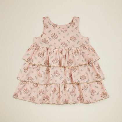 Apolina Camille Overdress - Pink Quilt