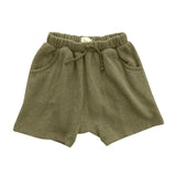 Nico Nico Dani Speckled Harem Short in Fern