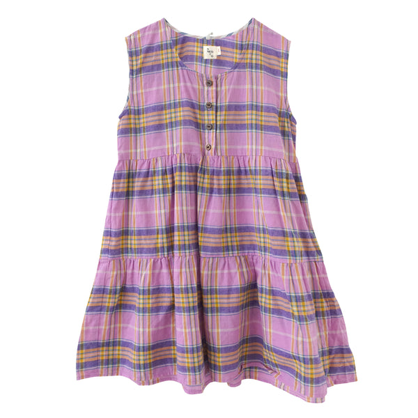 Nico Nico Evelyn Tiered Dress in Orchid
