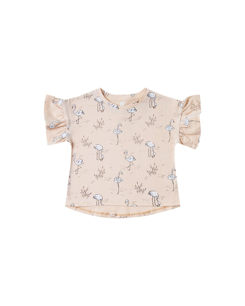 Rylee & Cru Flamingos Leotard