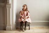 Soor Ploom Josie Dress in Berry Linen