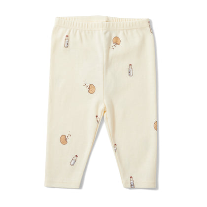 Konges Slojd Newborn Leggings in Bon Apetit