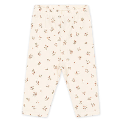 Konges Slojd Newborn Leggings in Amour Rose