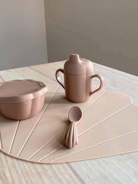 Konges Silicone Shell Set in Blush