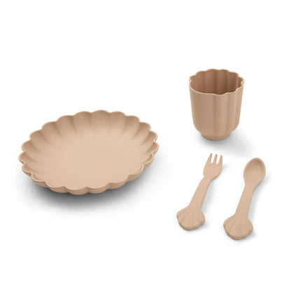 Konges Slojd Flora Dinner Set in Blush