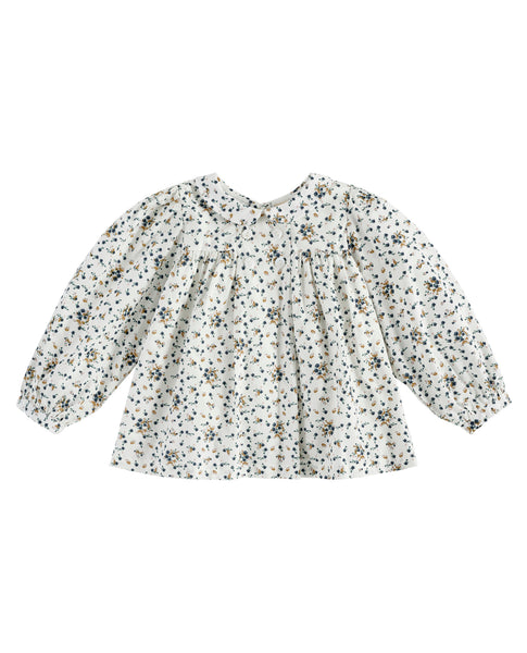 Little Cotton Clothes Josephine Blouse in Dainty Floral