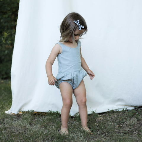 Soor Ploom Lois Playsuit in Moonstone