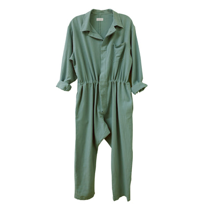 Nico Nico Lyric Chevron Flight Suit in Cactus