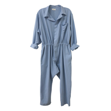 Nico Nico Lyric Chevron Flight Suit in Cloud