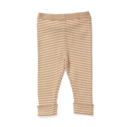 Konges Slojd Meo Cotton Pants in Moonlight Stripe