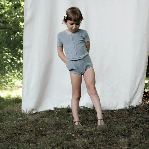 Soor Ploom Pippa Playsuit in Moonstone