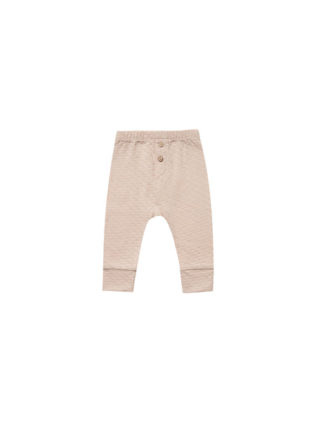 Quincy Mae Pointelle Pajama Pant in Petal