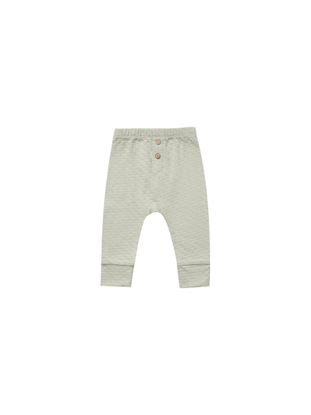Quincy Mae Pointelle Pajama Pant in Sage