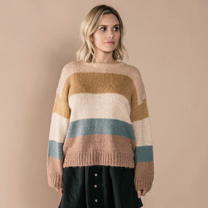 Rylee & Cru Stripe Aspen Sweater