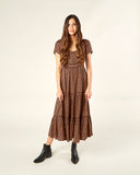 Rylee & Cru Women's Ada Dress in Wine