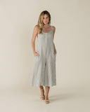 Rylee & Cru Womens Bridgette Jumpsuit in Storm Stripe