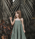 Rylee & Cru Tiered Maxi Dress in Rainforest