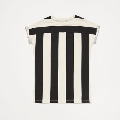 Repose AMS Thunder Block Stripe T-shirt Dress
