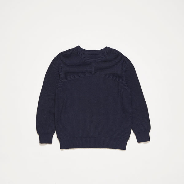 Repose AMS Knit Sweater in Dark Blue