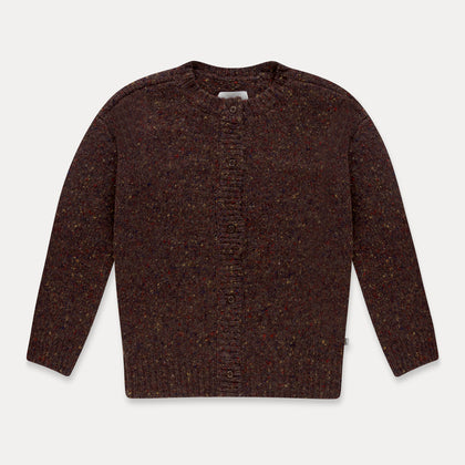 Repose AMS Knit Cardigan in Warm Pecan