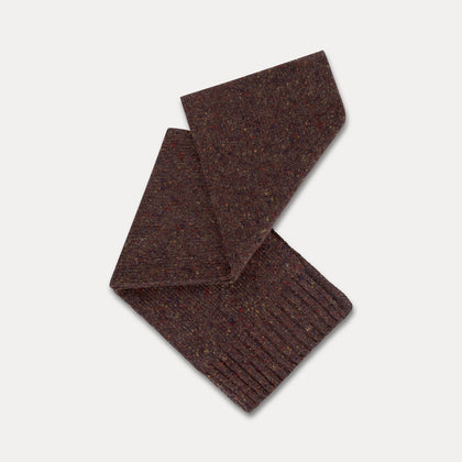 Repose AMS Knitted Scarf in Warm Pecan