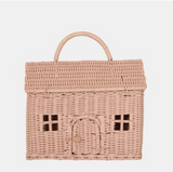 Olli Ella Casa Clutch in Rose