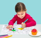omy maison Placemat Coloring Pages Fantastic