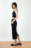 Micaela Greg Faded Black Rae Rib Skirt