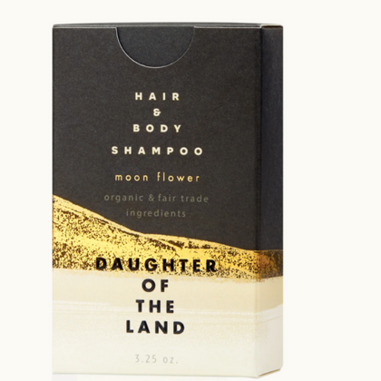 Daughter of the Land Organic Moon Flower Shampoo Bar