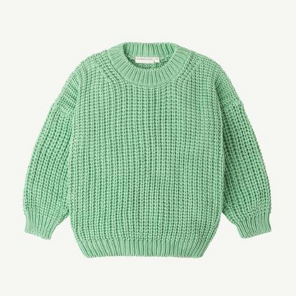 Summer & Storm Chunky Pullover - Meadow